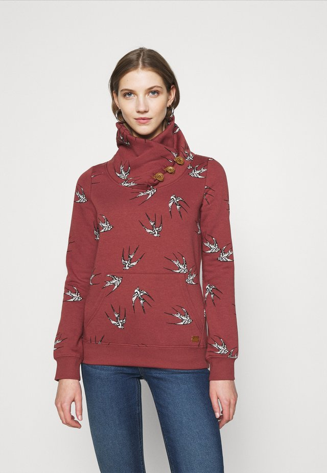ONLPIP NADINE HIGHNECK - Bluza - apple butter