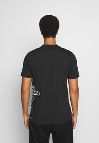 adidas Originals - GOOFY TEE - Print T-shirt - black/white - 2