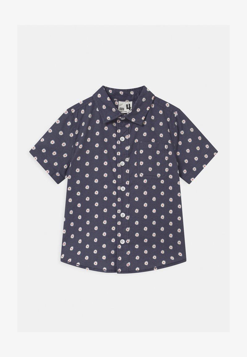 Cotton On - RESORT SHORT SLEEVE - Camisa - ditsy/vintage navy