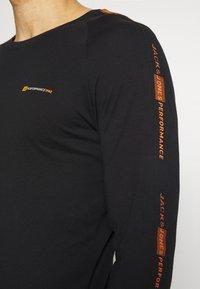 Jack & Jones - JCOFINN TEE  - Long sleeved top - black - 3
