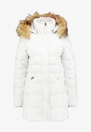 COAT FILLED - Płaszcz puchowy - birch white