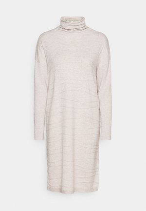 DRESS LINES - Jumper dress - beige