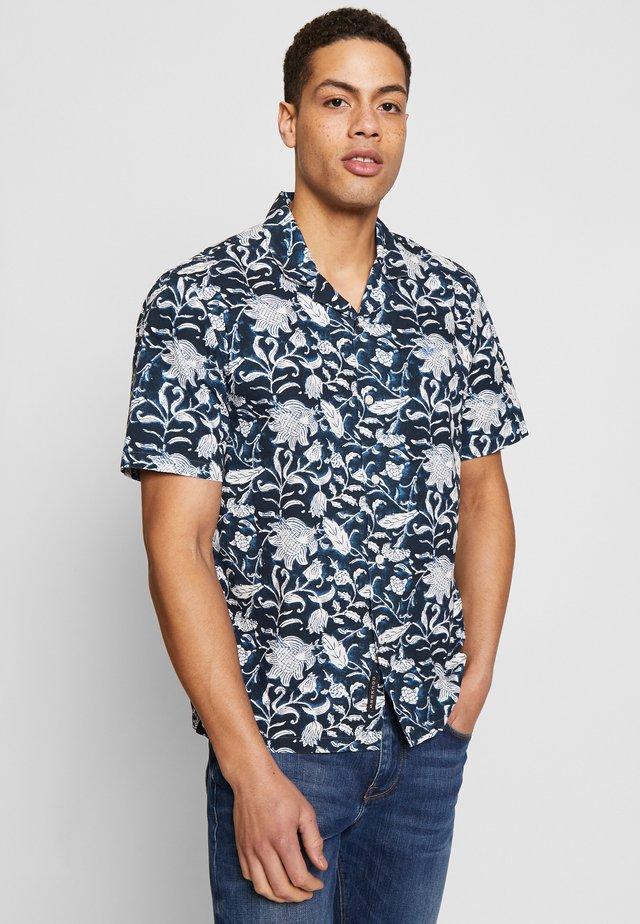 SHORT SLEEVE ISLAND SHIRT - Koszula - banta navy blazer