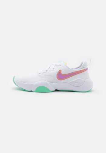 SPEEDREP - Zapatillas de entrenamiento - white/violet shock/laser orange/green glow/infinite lilac