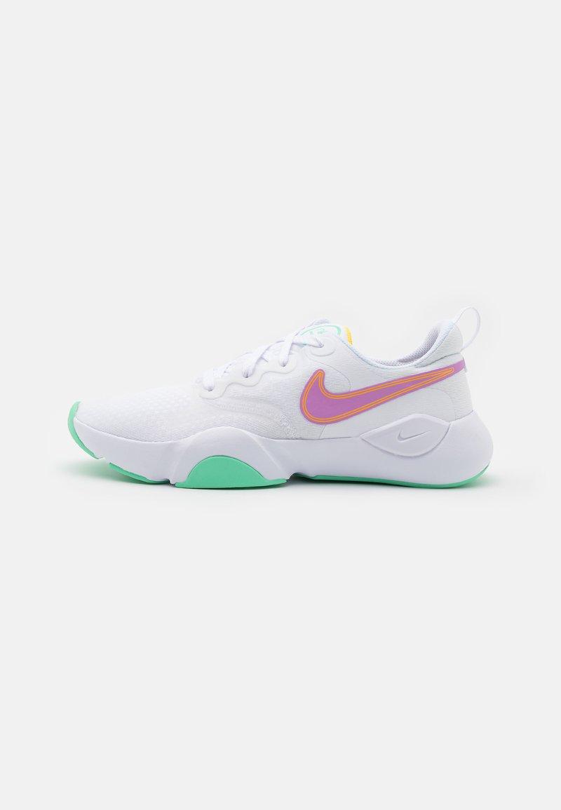 Nike Performance - SPEEDREP - Sports shoes - white/violet shock/laser orange/green glow/infinite lilac