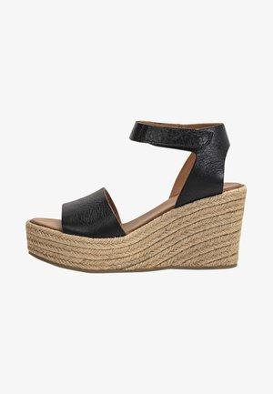 High heeled sandals - mntrl black nbl