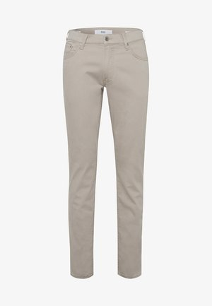 STYLE CHUCK - Straight leg jeans - beige