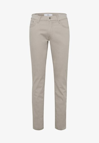 STYLE CHUCK - Straight leg jeans - beige