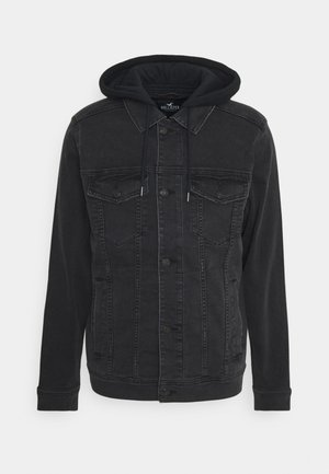 TRUCKER TWOFER - Denim jacket - black wash