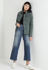 Superdry - KIONA ROOKIE POCKET JACKET - Summer jacket - green - 1