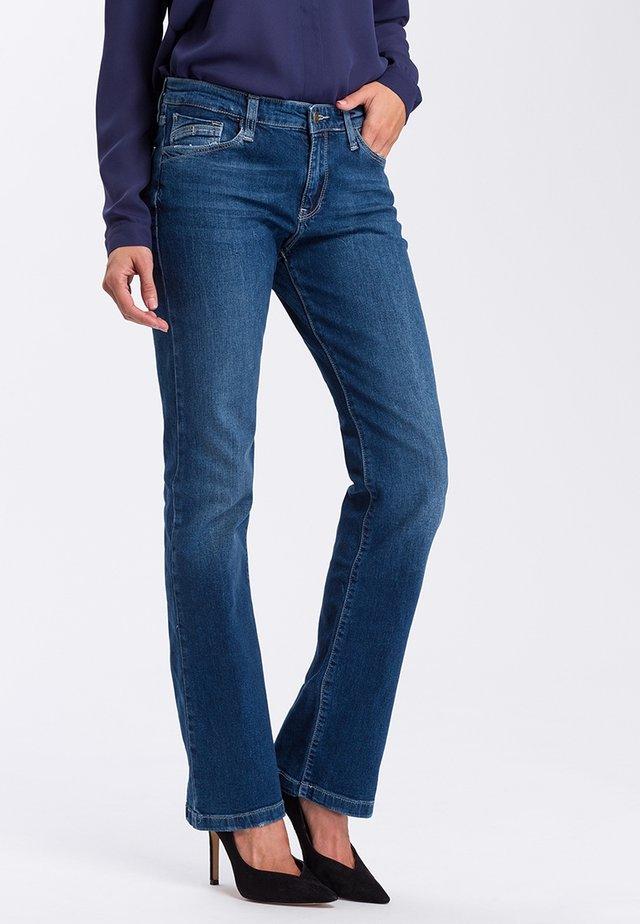 LAUREN - Bootcut jeans - dark blue used