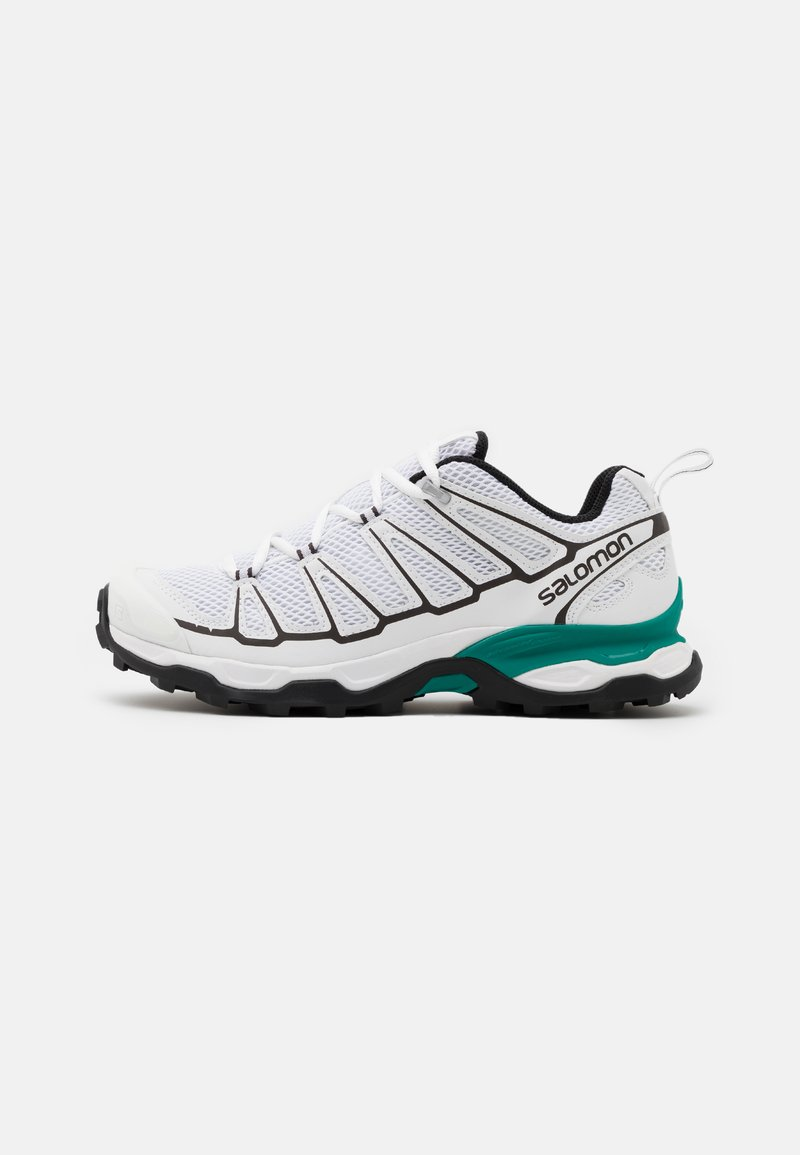 Salomon - SHOES X ULTRA ADV UNISEX - Sneakers basse - white/shale/parasailing