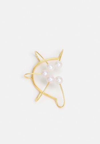IRIS CONCHA EARCLIP - Earrings - gold-coloured