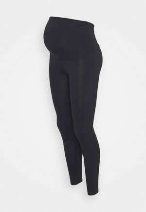 MATERNITY CORE OVER BELLY - Leggings - navy
