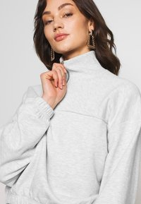 Weekday - LOU  - Sweatshirt - light grey melange - 4