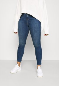 Dr.Denim Plus - MOXY - Jeans Skinny Fit - hurricane dark blue - 0