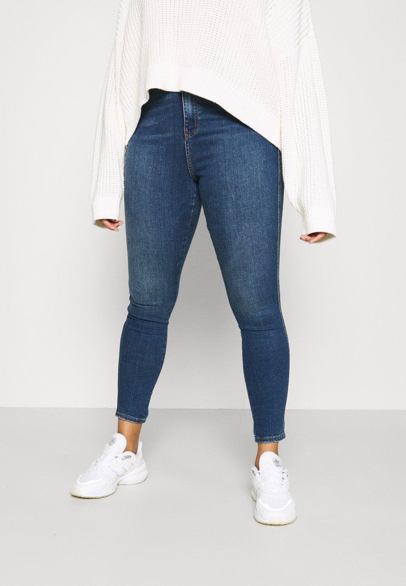 Dr.Denim Plus - MOXY - Jeans Skinny Fit - hurricane dark blue