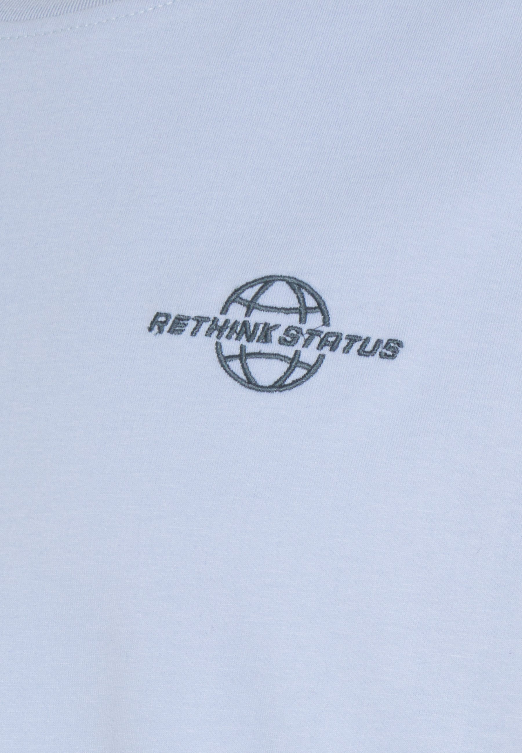 RETHINK Status Print T-shirt - kentucky blue jk65w