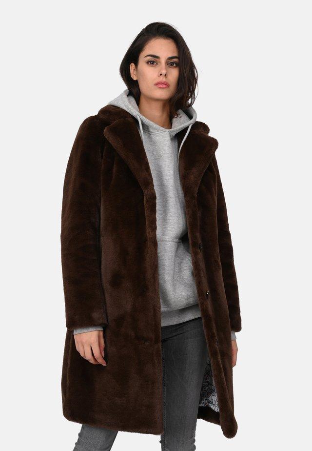 CYBER - Cappotto invernale - dark brown