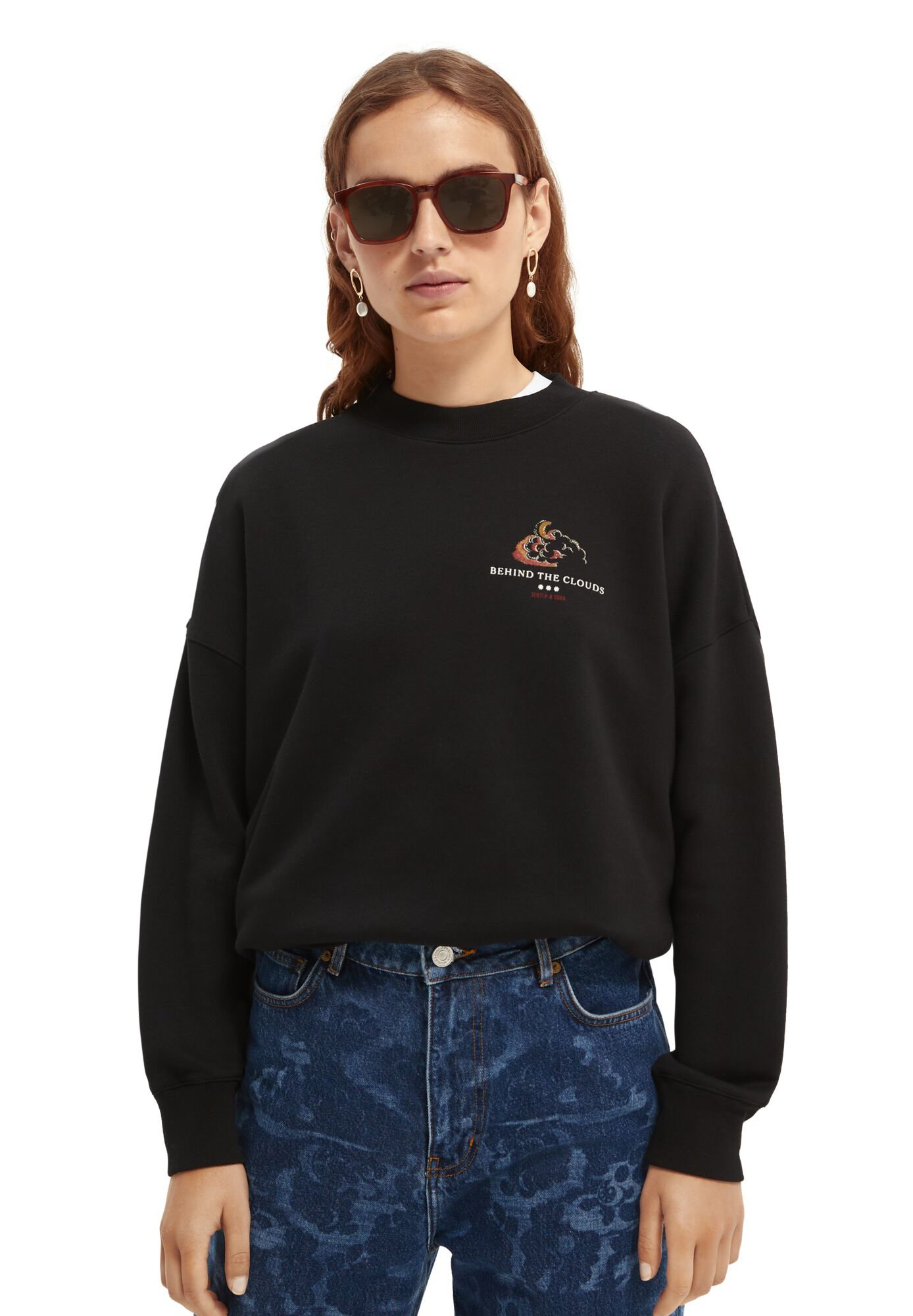 Women CREWNECK WITH GRAPHIC - Sweatshirt