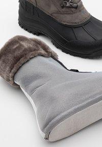 CMP - KINOS WP - Winter boots - graffite/nero - 5