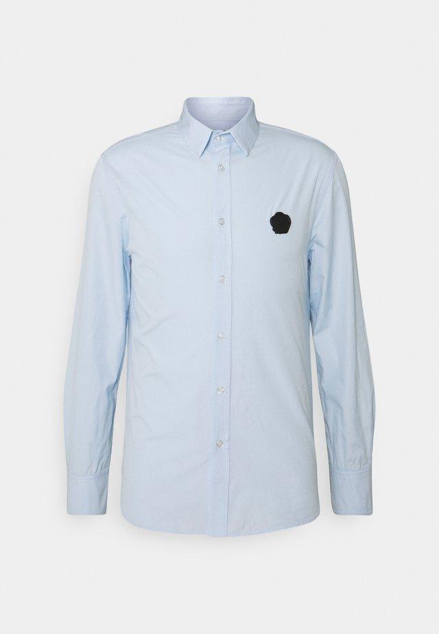 SHIRT WITH RUBBER SEAL - Skjorte - light blue