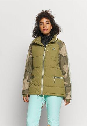 KEELAN - Snowboard jacket - olive