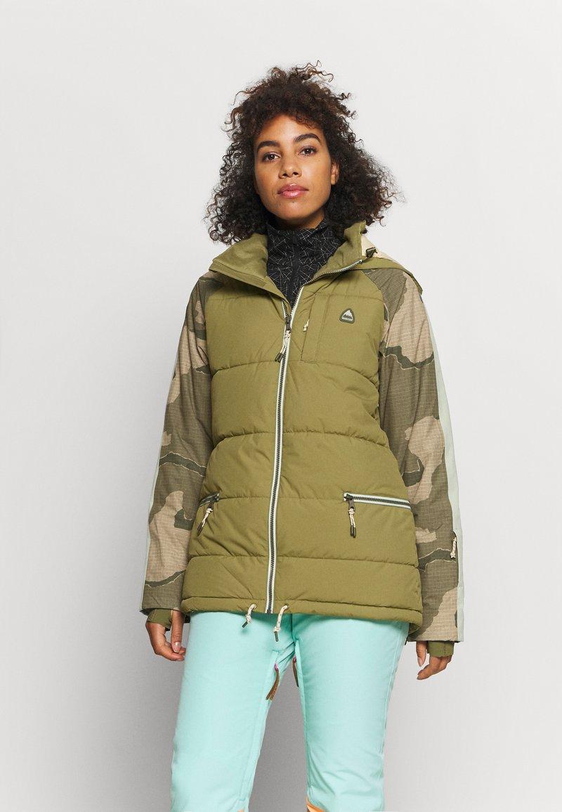 Burton - KEELAN - Snowboardjacke - olive