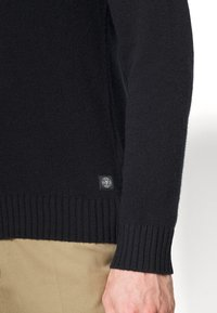 Marc O'Polo - TROYER ZIPPER - Jumper - total eclipse - 5