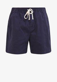 DOCK GARMENT DYE STRETCH - Shorts - historic blue