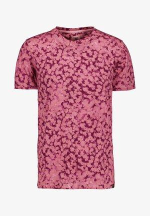 Camiseta estampada - mauve mist