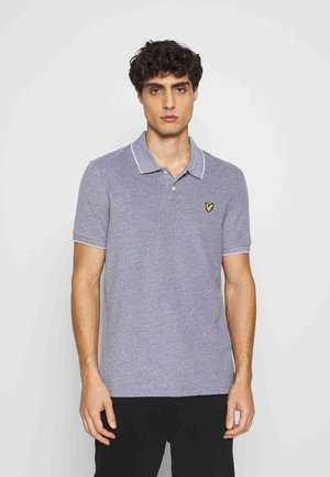 OXFORD  - Polo - white/dark navy