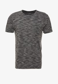 TOM TAILOR DENIM - NOS  - Basic T-shirt - black - 4