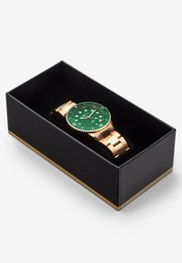 Carlheim - DIVER 40MM LINK - Montre - rose gold-green - 4