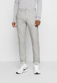 Tommy Hilfiger - DENTON CHINO WOOL LOOK FLEX - Chinos - grey - 0
