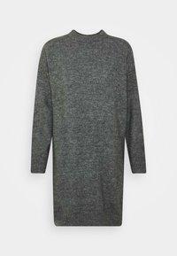 Zign Petite - Gebreide jurk - dark grey melange - 4
