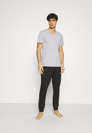 3 PACK - Maglietta intima - blanc/argent chine/noir
