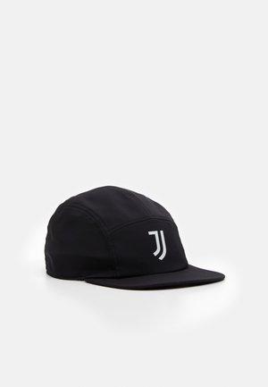 JUVENTUS SPORTS FOOTBALL KAPPE UNISEX - Cap - black/white