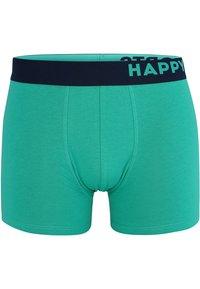 Happy Shorts - 2 PACK - Underkläder - black, teal - 2