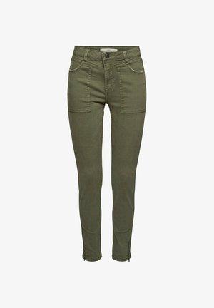 Slim fit jeans - khaki green