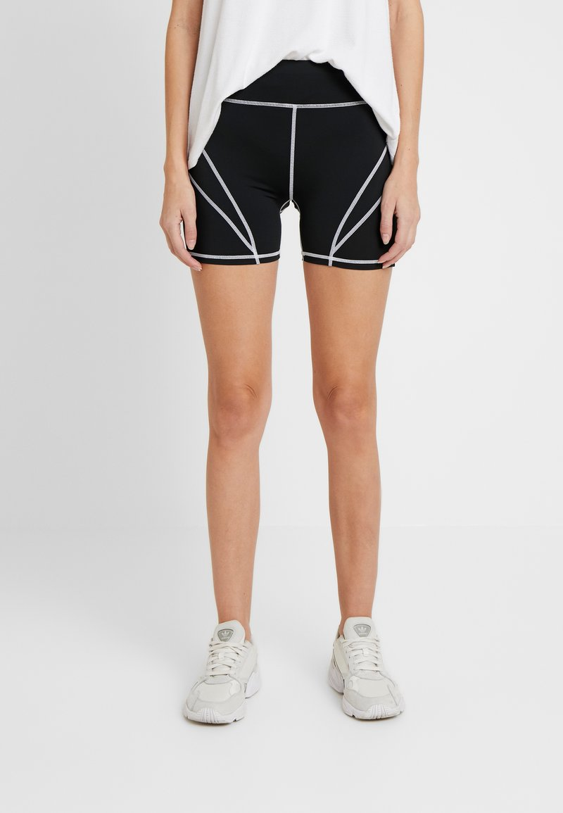 Missguided Tall - PANEL CYCLING - Shorts - black