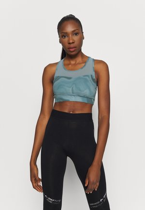 ONPSMAYA LIFE SPORTS BRA - Medium support sports bra - goblin blue
