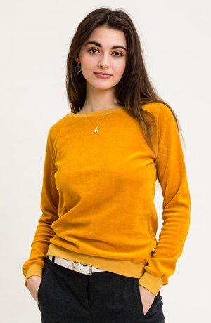 LORAINA - Fleece jumper - gelb