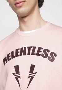 Neil Barrett - RELENTLESS SPORT BOLTS - Mikina - pink/cabernet - 3