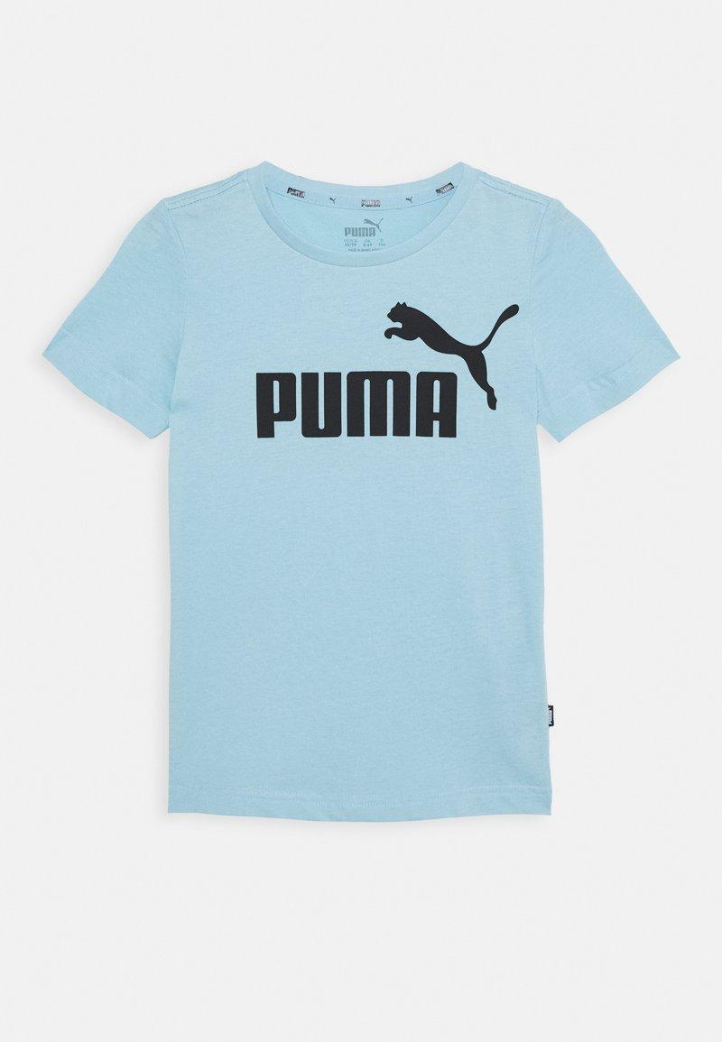Puma - LOGO UNISEX - Print T-shirt - aquamarine