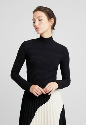 MANON LONGSLEEVE - Long sleeved top - black