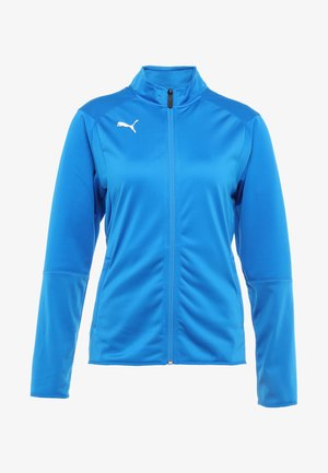 LIGA - Training jacket - electric blue lemonade/white