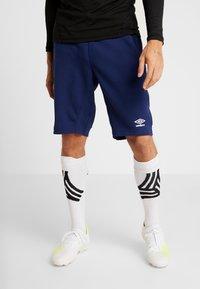 Umbro - FC SCHALKE 04 PRO  - Sports shorts - medieval blue/evening blue - 0