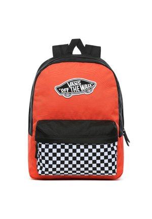REALM BACKPACK - Rucksack - paprika-checkerboard