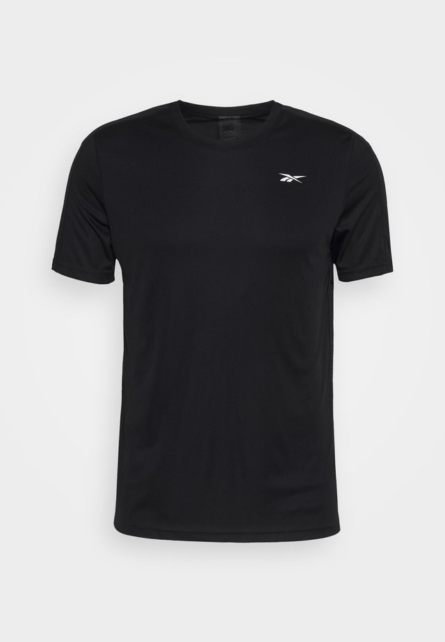 TECH TEE - T-shirts med print - black